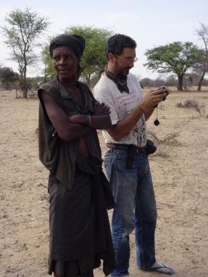 Angola - vers la Namibie bivouac JeanJacques