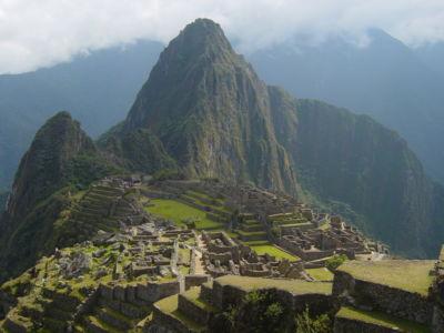 8a Machu Picchu In Peru