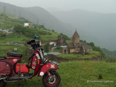 Armenia, Tatev Monastey