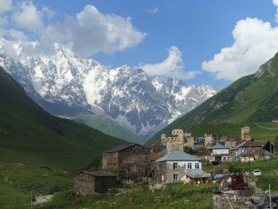 Georgia, Ushguli, Highest Settlement In Europe