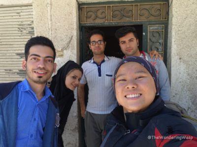 Iran, Shiraz, My Host
