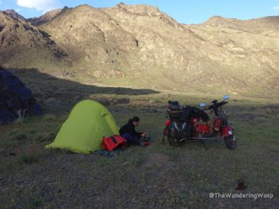 Iran, Wild Camping In Abyaneh