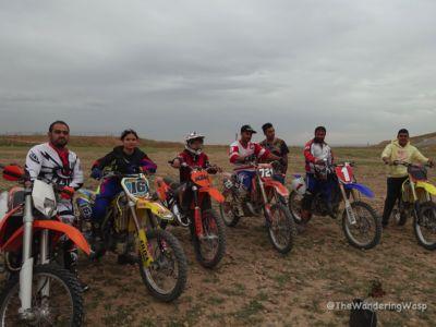 Iran, With Motocross Riders